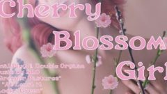 Cherry Blossom Girl Trailer– Butt-Plug & Double Orgasm