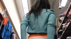 Public Anal Masturbation In A Busy Shop