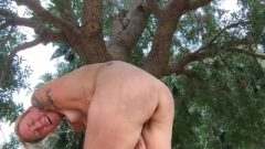 Hungry Girls Ass Plug Bike Ride Masturbation Orgasm