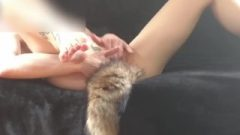 Girlwiththepaw Ejaculates With A Tail