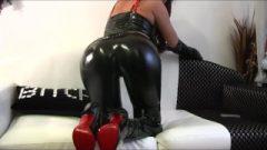 Mistress Liza – Jizz On My Red Soles