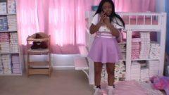 Lydia Receives Ready 4 Date W Papa Bum Plugs Licks