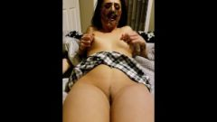 Titillating Zombie Has Kissable Halloween Sex & Plays With An Inflating Anal Plug