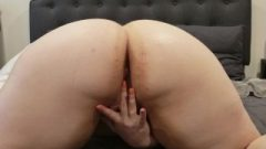 Playing With My Bum ❤️ Solo Buttplug Play