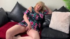 A Hungry Man Helps Mature English Bitch Take Her First Ass Plug.