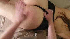 Thrashing Punishment. Bum Plug And Anal Creampie. Groaning Orgasm)