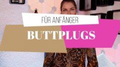 Bdsm-ratgeber: Butt-Plug Und Analplug Tipps Für Anfänger (3-3)